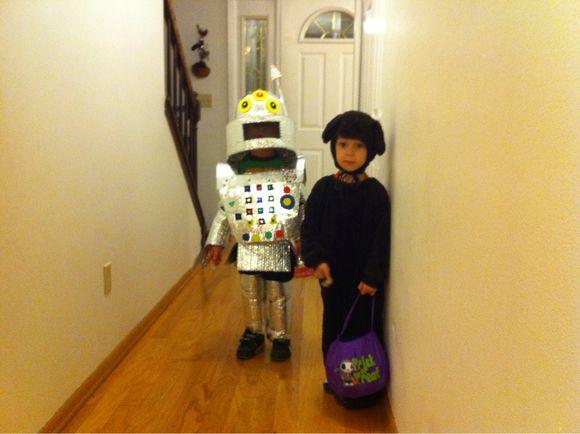 Halloweening with Henry